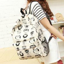 stacy çantası sıcak satış kadın karikatür baskı sırt kız çocuk seyahat çantası çocuk öğrenci okul çantası bayan rahat seyahat çantası(China (Mainland))