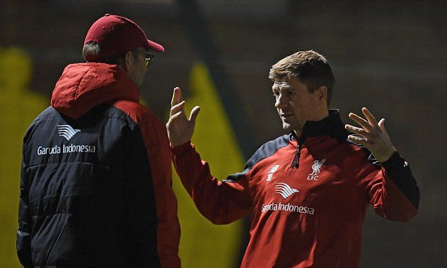Steven Gerrard hails Jurgen Klopp impact at Liverpool #DailyMail