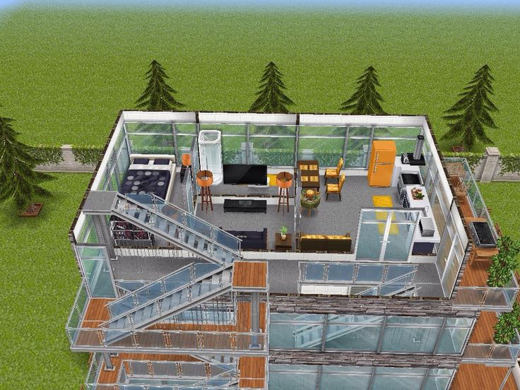 House 95 gated apartments level 3 #sims #simsfreeplay #simshousedesign