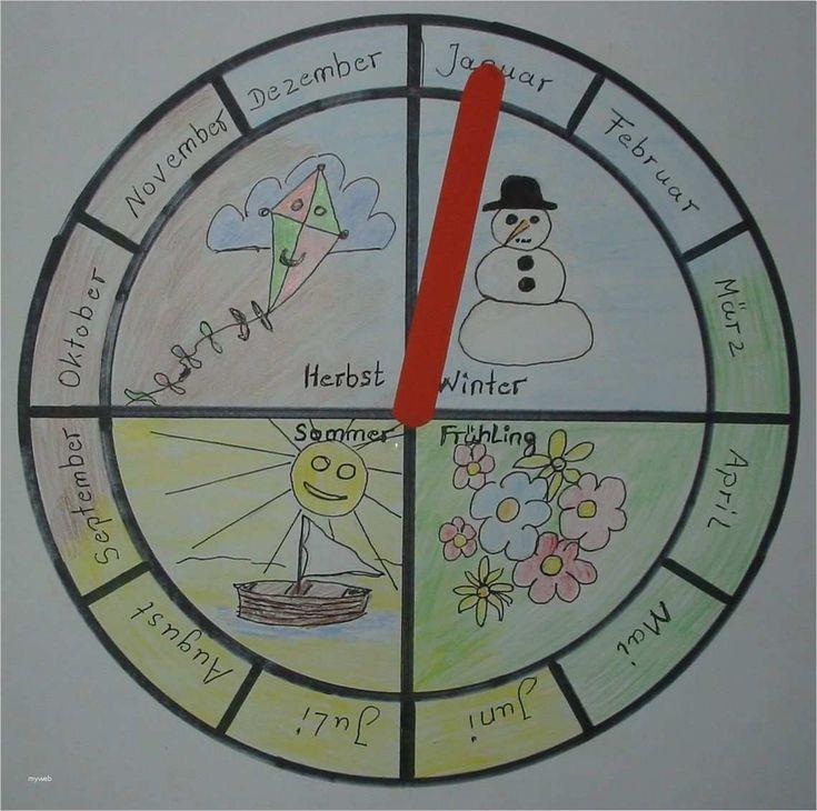 Jahreskreis Kindergarten Vorlage Erstaunlich Jahreszeiten Uhr Gkkreativ Kinderse Erna S Ern Montessori Materials Preschool Learning Preschool Activity