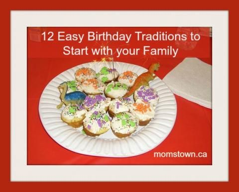 12 easy birthday traditions for kids