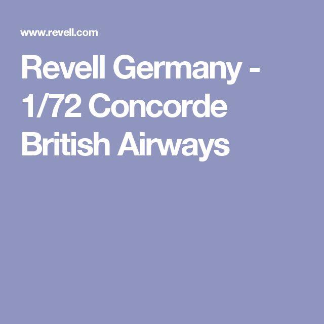 Revell Germany - 1/72 Concorde British Airways