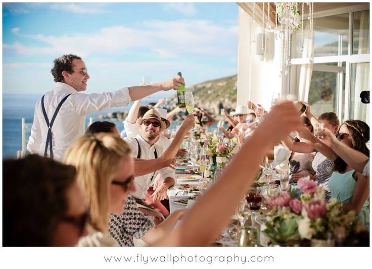 A truly unique wedding in Cape Town