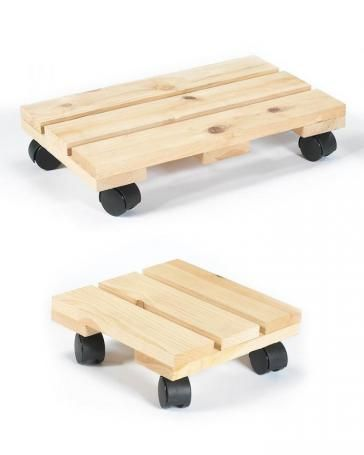 We can use old pallets for these.