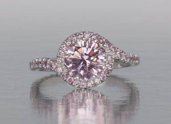 Pink Diamond Ring!