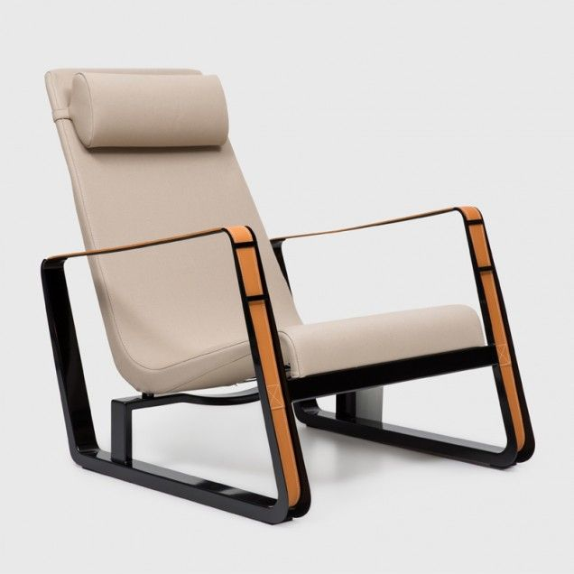 Cité Chair in Beige/Deep Black