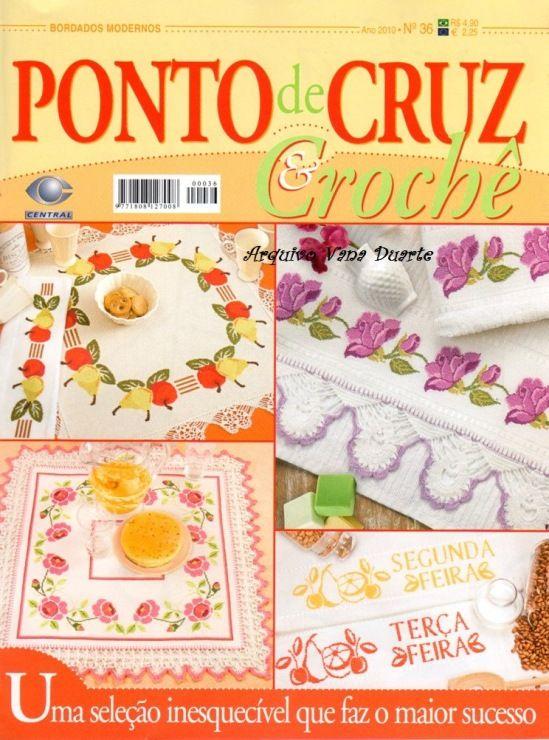 Cross stitch and crochet magazine