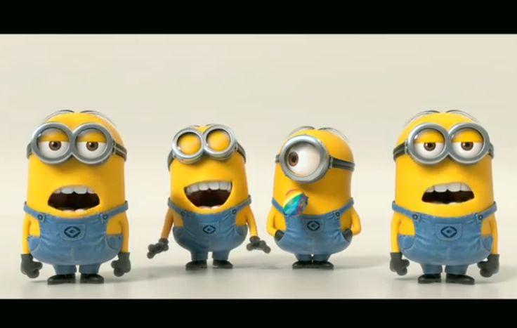 The Minions banana video song and lyrics. http://www.theanimationmovie.com/the-minions-banana-video-song-and-lyrics/