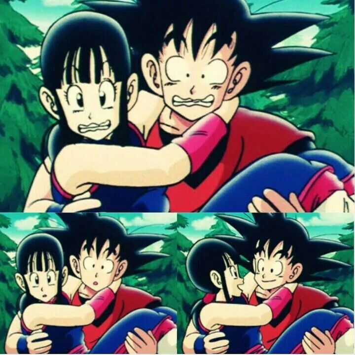 Goku and Chichi ♥♥