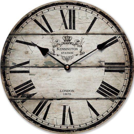 Oltre 25 fantastiche idee su decorazione orologio da - Orologi da parete grandi ...