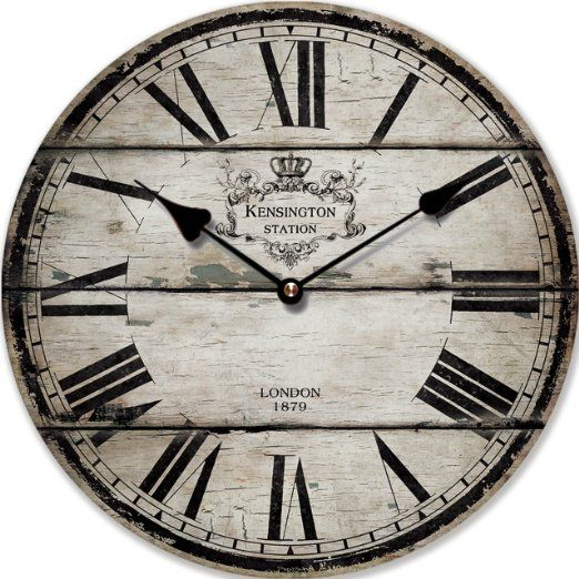 OROLOGIO DA PARETE DESIGN LONDON 1879 SHABBY CHIC - Tinas Collection EURO 19,90
