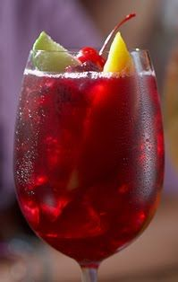 Virtual Wine Bar: Sangria!  There are 8 sangria recipes here to try.  Red Wine Sangria  White Wine Sangria ~ Cheers!