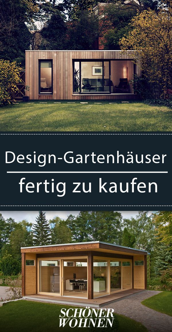Design Gartenhauser Fertig Zu Kaufen Ein Hauch Extravaganz Fur Den Garten Garten Gartenhaus Gartenhau Backyard House Modern Garden Design Backyard Design
