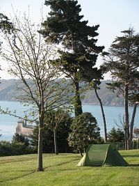 Camping Fauvette - Binic - 88 plaatsenuitzicht op zee, weinig beschutting, dicht bij dorp. voor 2 pers. ongeveer 18 euro p/n