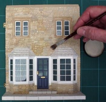 In the Vernacular - Create Stone Clad Miniature Buildings with Malcolm Smith Part 3 | Features | Collectors Club of Great Britain