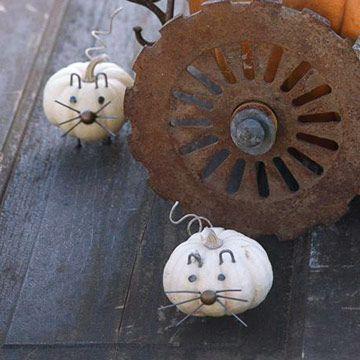 Mice Pumpkins