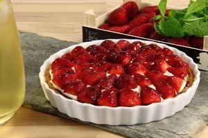 Elisha good strawberry tart 4