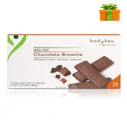 Chocolate Brownie Nutrition Meal Replacement Bar Non GMO Gluten Free