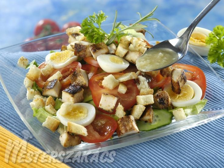 Caesar-saláta csirkével recept