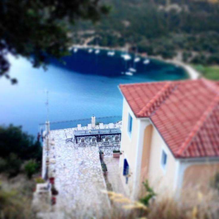 Breakfast at Poli, ITHACA, Greece