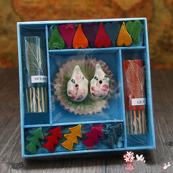 Thailand Souvenir Love Christmas Tree Stick Tower Incense Flower Gift Fragrance Aromatherapy Fresh Air Yoga Free Shipping