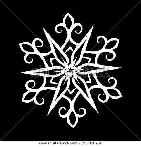 Snowflake Icon sketch