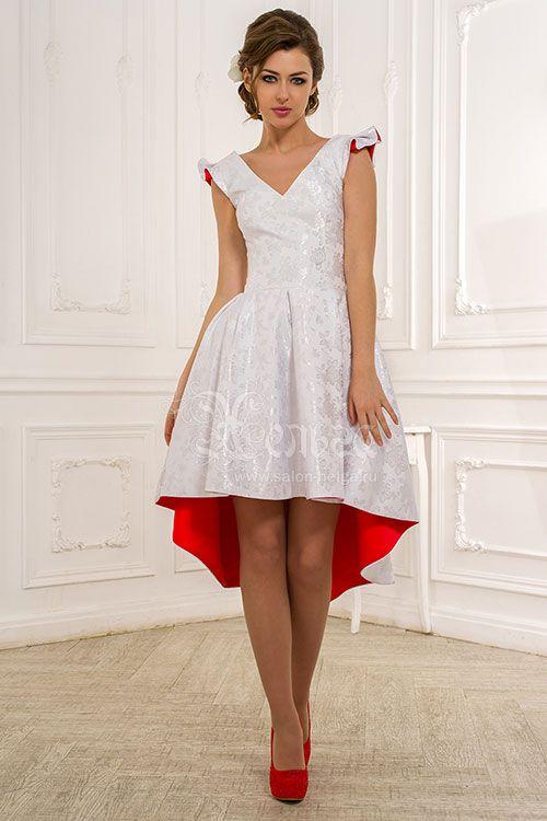 Яркое платье на выпускной Людовика