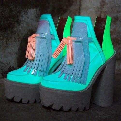 Black-light delights for the feet!