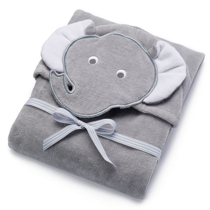 Baby Carter's Animal Hooded Terry Towel, Multicolor