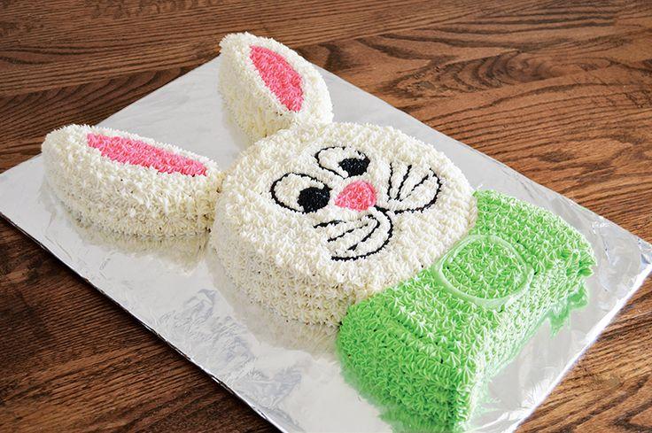 Bunny Cut-up Cake   Homan at Home