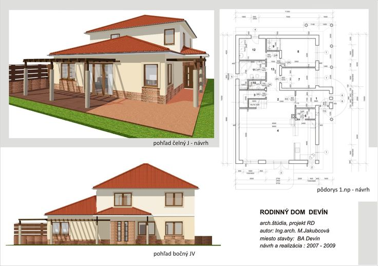 House design - by ARCline studio, www.arcline.sk #modernhome, #architekture, #homedesign