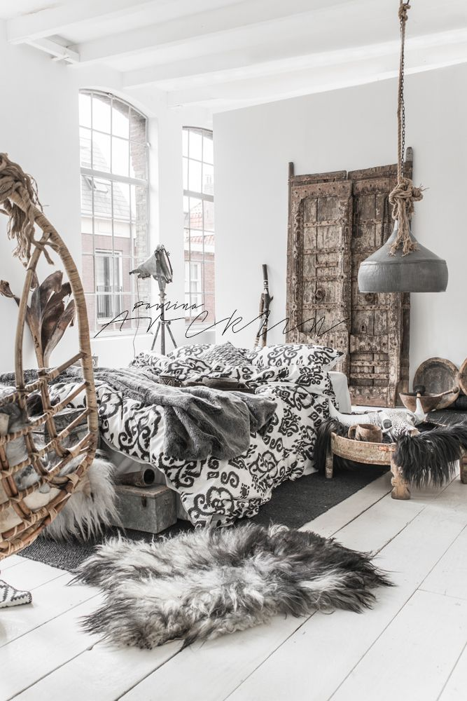 © Paulina Arcklin | NOMADS Panthera Ikat bedding available on www.bohzaar.co.uk