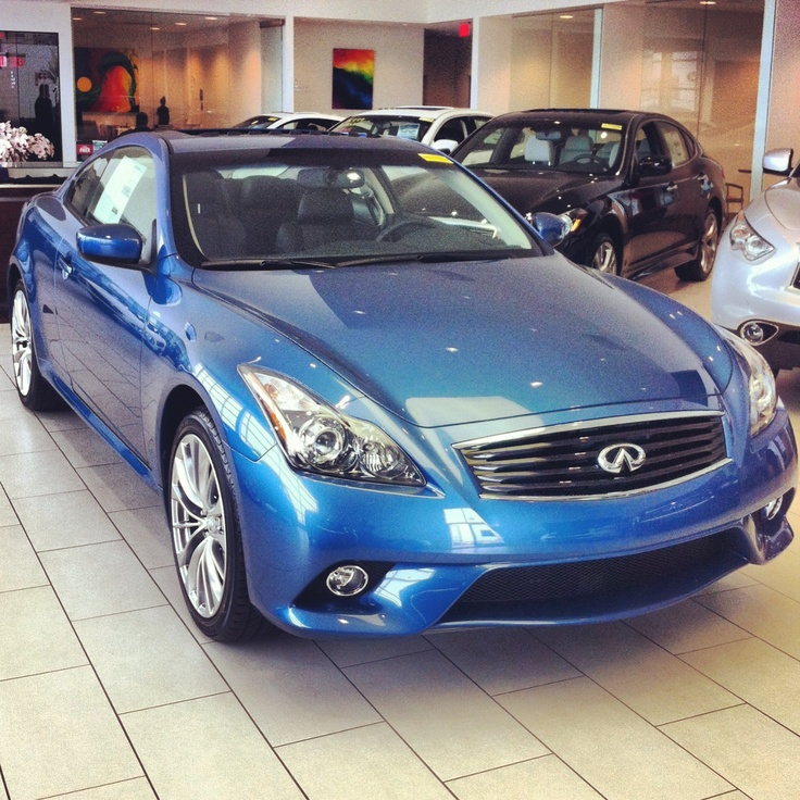 2013 Infiniti G37xS Coupe In Lapis Blue With Graphite