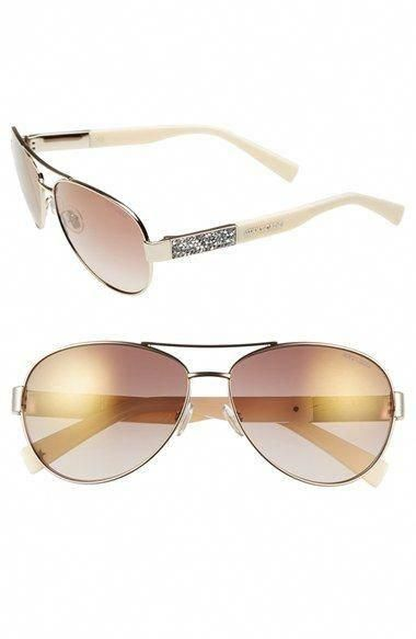 9bcc5c25e12f Jimmy Choo 'Babas' 59mm Aviator Sunglasses available at #Nordstrom # JimmyChoo | Jimmy Choo in 2018 | Pinterest | Jimmy choo, Sunglasses and  Nordstrom