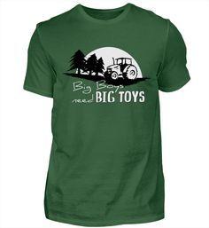 Big Boys need big Toys Traktor Forstwirt Landwirt - DAS Shirt für alle Waldarbeiter, Forstwirte, Landwirte und Menschen, die ihren Traktor lieben... Große Kinder brauchen großes Spielzeug!Als Shirt für Männer, Frauen und Kids, als Hoodie, Jacke, Sportbeutel erhältlich!Mehr berufliches findest Du hierMehr Sprachspiele findest Du in meinem Sprachspiel-Shop