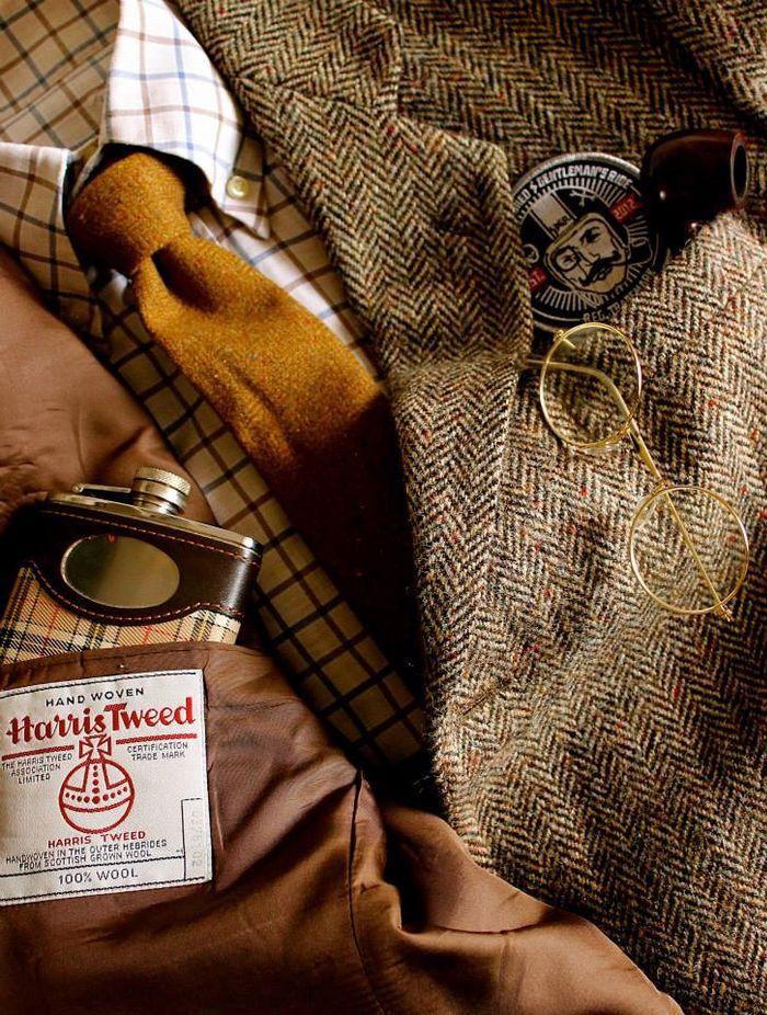 ♔ Harris tweed                                                                                                                                                                                 More