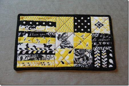 Good pattern for a mug rug