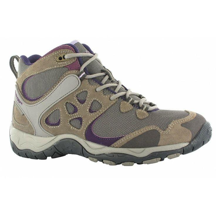 Леки и здрави мулти-спортни дамски високи обувки Hi-Tec Alchemy Lite MID WP с водоустойчива дишаща мембрана