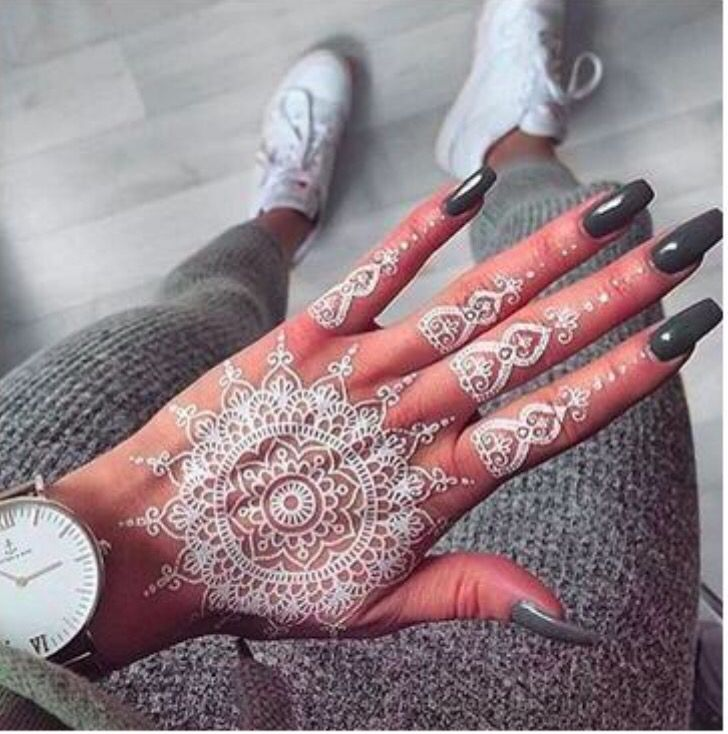 Mejores 12 imágenes de Henna en Pinterest | Tatuajes de henna, Henna ...