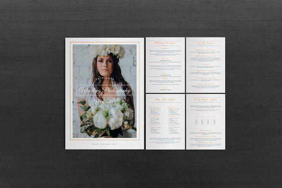 Wedding Photography Pricing by Ahsanjaya on @creativemarket