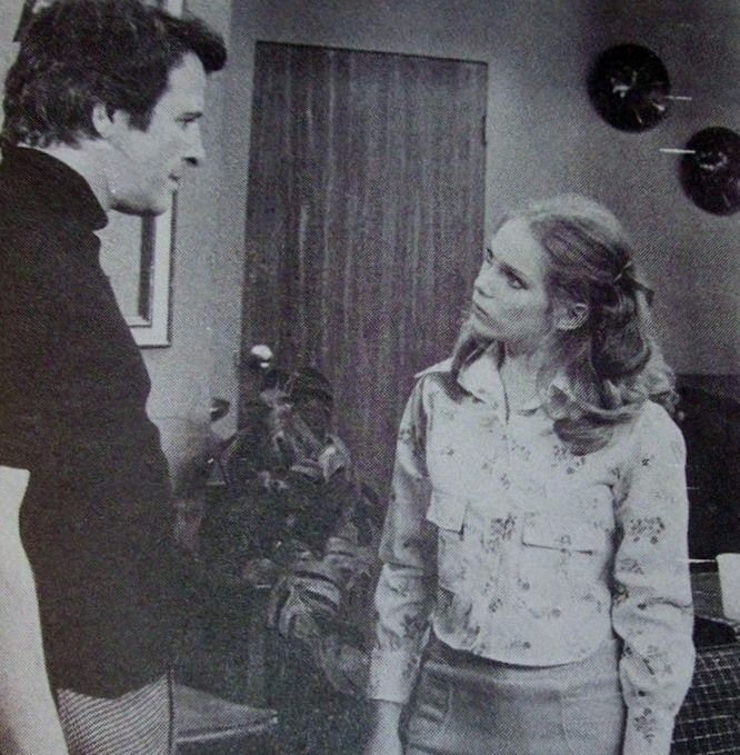 "Before she hit her big primetime break with ""Newhart"", Julia Duffy played Penny Davis as a young adult."