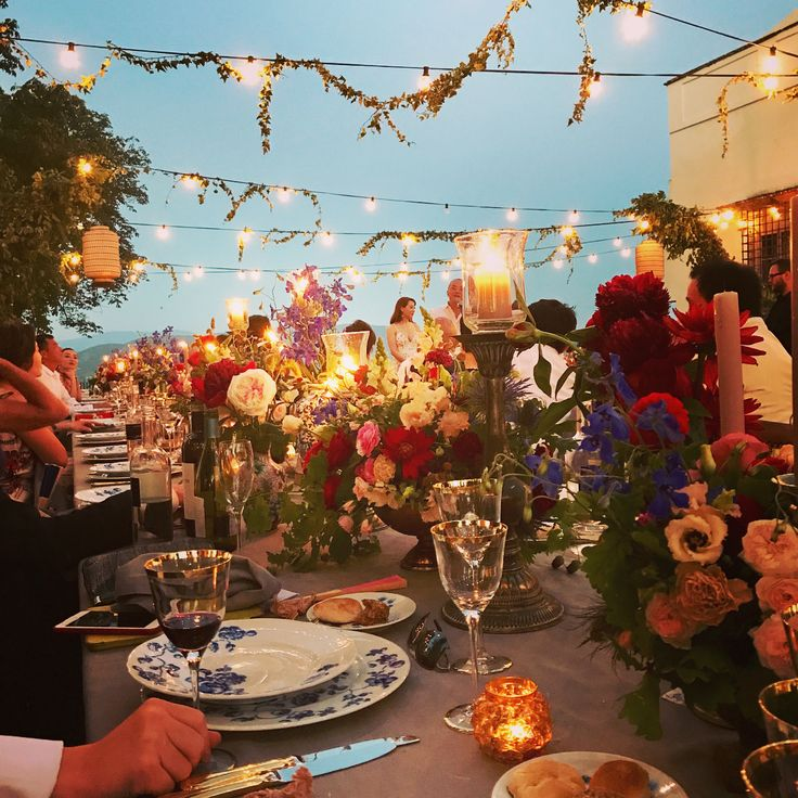 """Mi piace"": 13, commenti: 1 - 🐷 (@kchen16) su Instagram: ""wedding banquet 🌷#villacorsini #tuscany #tuscanywedding #firenze #florence #wedding #medici"""