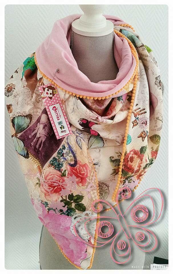 Zelf sjaal maken