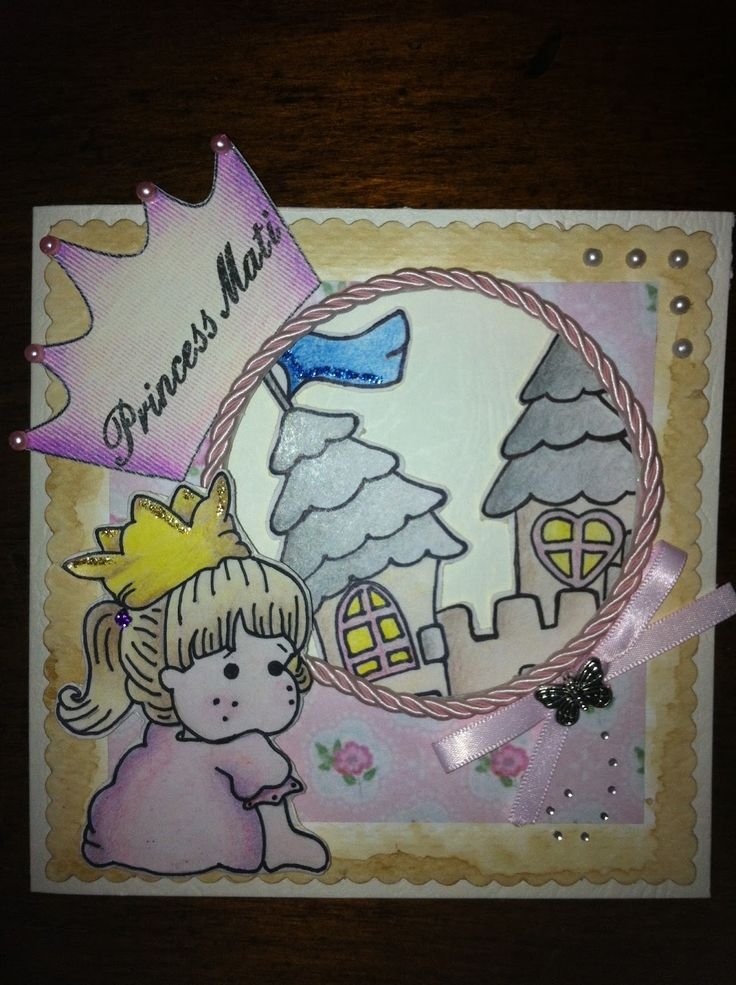 DIY, craft and scrap - B-day card