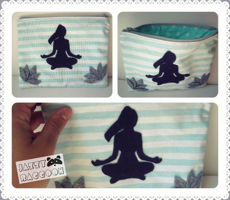 Handmade Purse for Yoga Lovers! by Jazzy Raccoon <3