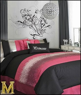 17 best images about bedding on pinterest twin comforter for Funky girl bedroom ideas