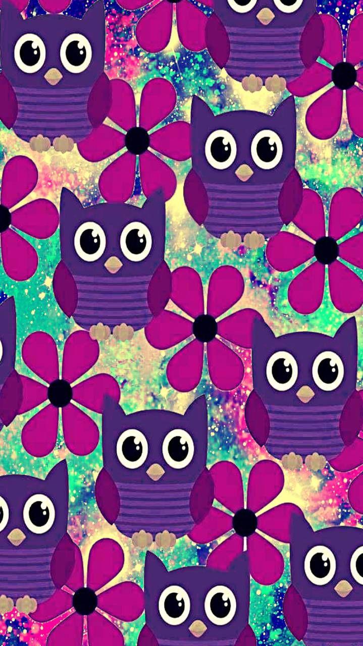 Wallpaper Owl Wallpaper Galaxy Wallpaper Iphone Wallpaper Vintage