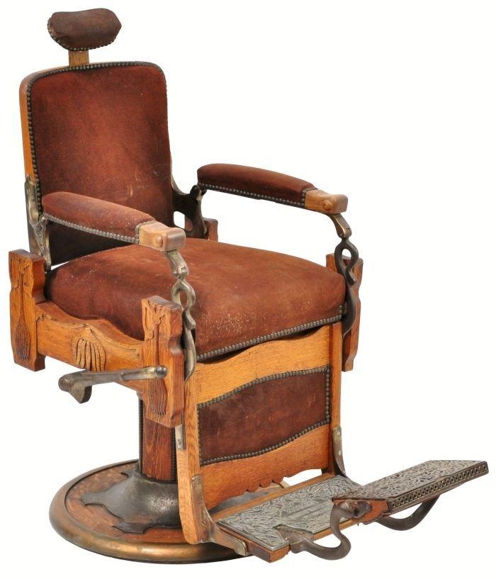 Antique Koken Barber Chair Cool Stuff