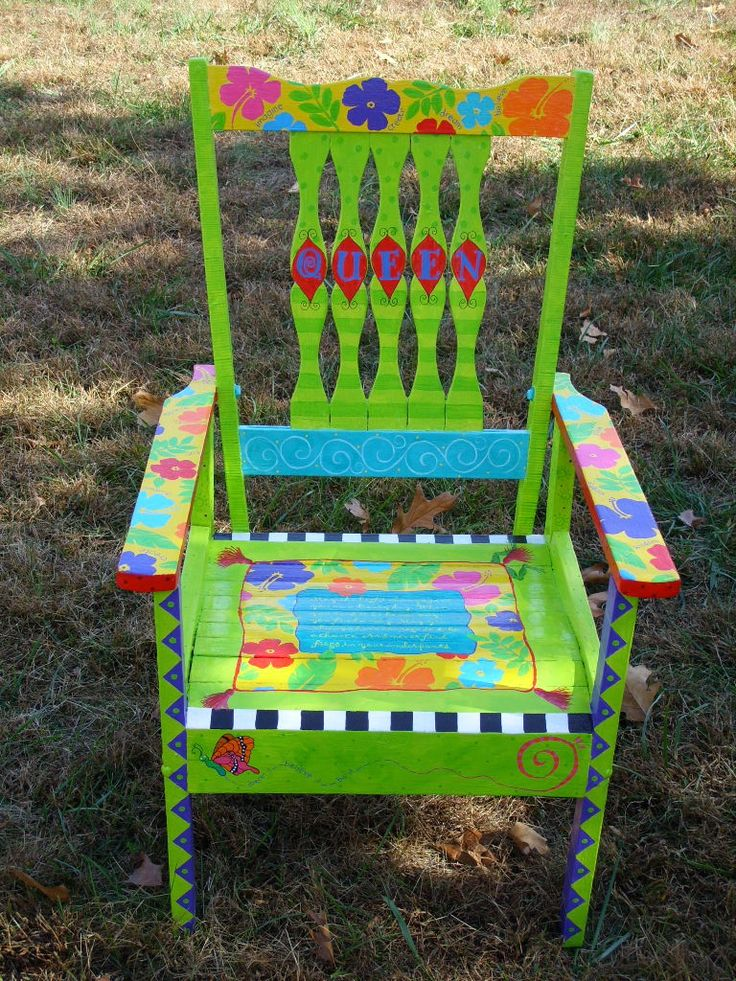 91 best images about funky painted furniture on pinterest