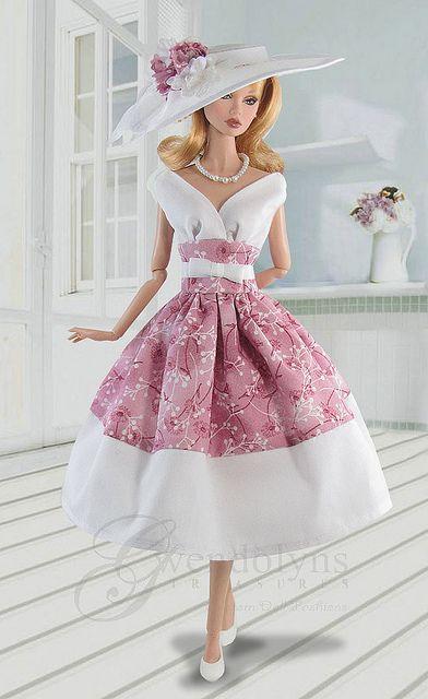 Barbie® Retro Dress and Hat Sets